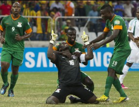 Вратар-голмайстор спаси Замбия срещу Нигерия