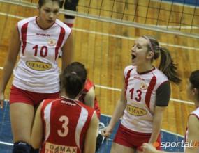 ЦСКА остана начело в НВЛ при жените след 3:1 над Казанлък Волей (ГАЛЕРИЯ)
