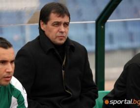 Хубчев иска още мачове при тежки условия