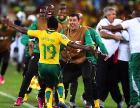 Равенство класира домакина ЮАР на 1/4-финалите (видео)