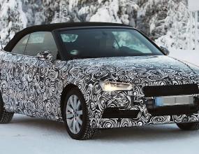 И Audi A3 кабрио тренира за представянето си
