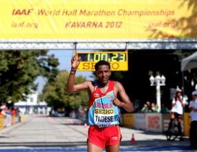 Тадесе с поглед към световния рекорд в полумаратона