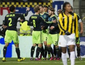 Аякс разгроми Витес и e на полуфинал за Купата на Холандия