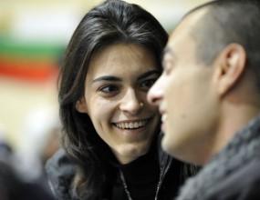 Журналист предложи брак на волейболистка преди Левски - Казанлък 3:0 (ВИДЕО)
