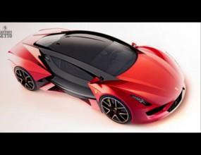 Как ще изглежда едно Ferrari през 2025?