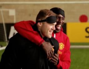 Футболна телепатия в изпълнения на Манчестър Юнайтед - част II (видео)
