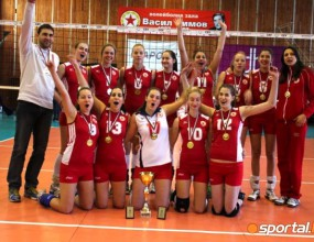 ЦСКА спечели титлата при девойките старша след драматично 3:2 над Марица (ГАЛЕРИИ)