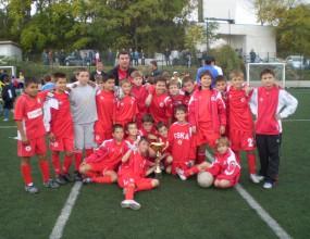 ЦСКА спечели международен юношески турнир
