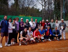Рекорден брой участници в първия турнир от КАИ Национална тенис лига