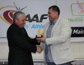Шеф в БФЛА с награда от Европейската атлетическа асоциация
