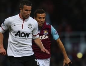 Гол от засада спаси Ман Юнайтед срещу Уест Хам (видео)