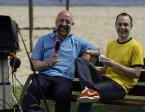 Интервюто с Иниеста: Ла Лига е по-важна от ШЛ