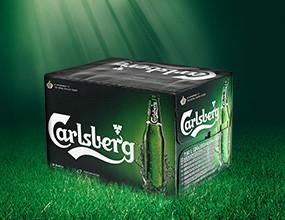 Първият печеливш в играта на Carlsberg
