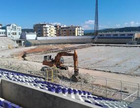 Стадионът във Велико Търново ще е готов до края на юни