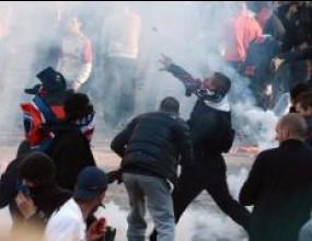 42 души са задържани за участие в улични безредици в Париж