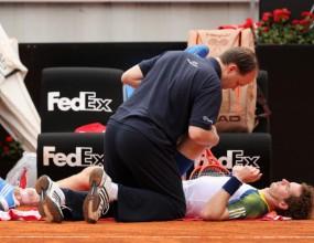Мъри се отказа заради травма, Цонга отпадна в Рим