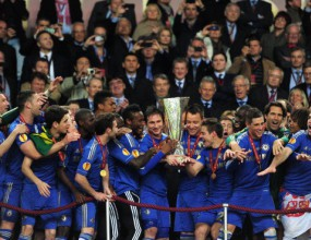 Челси е четвъртият отбор с трите европейски купи във витрината си
