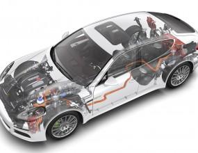 Всички модели Porsche стават хибридни през 2017