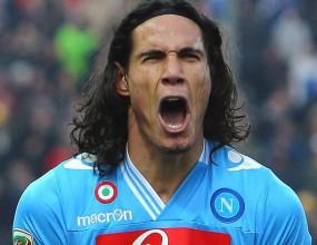 """Кавани е третият уругваец, възцарил се сред голмайсторите в Серия """"А"""""""
