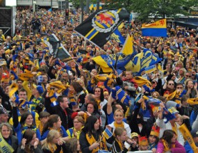 Брауншвайг празнува промоцията на Айнтрахт