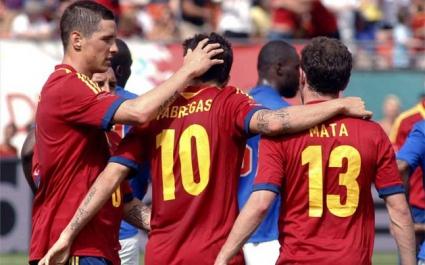 Испания взе своето срещу Хаити