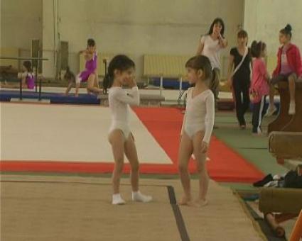 """Общо 53 деца се включиха в турнир по художествена гимнастика """"Дунавски звездички"""""""