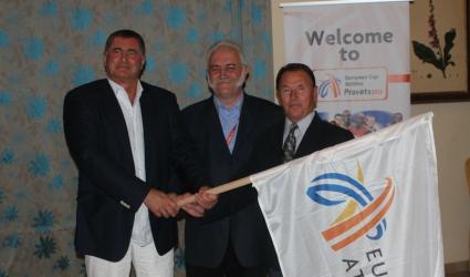 БФЛА предаде знамето на Европейската атлетика на Македония