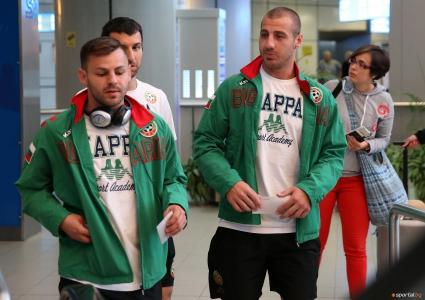 Разходка и стречинг за националите преди мача с Италия
