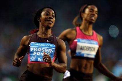 Фурията Фрейзър-Прайс с рекорд и диамант на 100 м