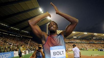 Болт с победа на 100 м в Брюксел, диамант за Уейр на 200 м