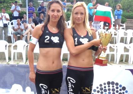Диана Малинова и Русена Сланчева спечелиха Национална верига 2013 при жените