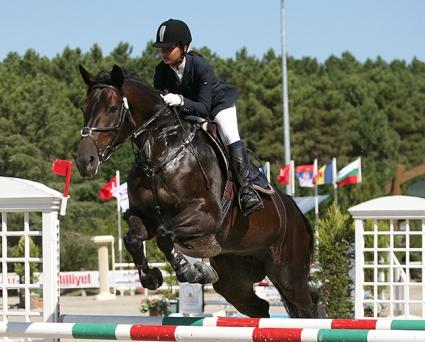 Детският национален отбор на България по конен спорт - 4-ти на Балкандиадата