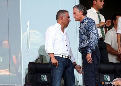 Домусчиев пред Sportal.bg: Нека говорят, Лудогорец е класа и в Европа