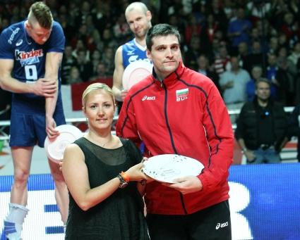 Тодор Алексиев бе определен за най-добрият посрещач на европейското (ГАЛЕРИЯ)
