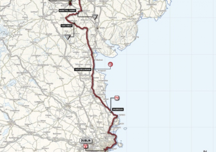 Обиколката на Италия през 2014 година ще стартира в Белфаст
