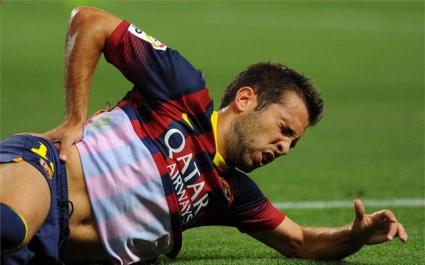 Две контузии развалиха настроението в Барселона