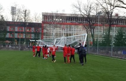 Треньор от школата на ЦСКА: Новият терен е перфектен!
