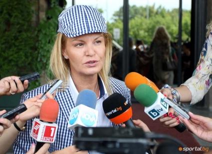 Стефка Костадинова се срещна с Хуго Алонсо