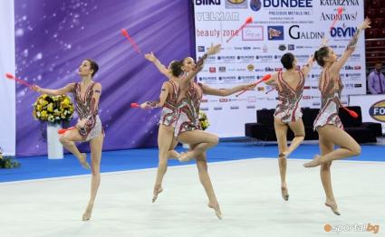 Ансамбълът на България спечели бронзов медал в многобоя
