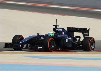 Маса поведе с Уилямс през третия ден от Ф1 теста в Бахрейн