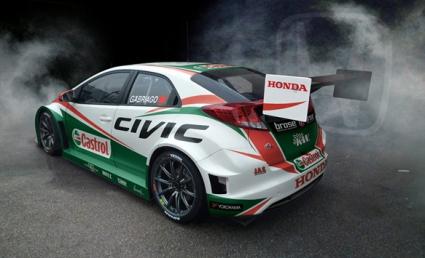 Хонда представиха новите цветове на своя Сивик WTCC