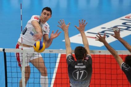 Пиаченца на първи финал за Купата на Италия след 3:1 над Тренто с Цецо Соколов