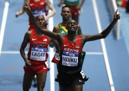 Кениец спечели титлата в бягането на 3000 метра