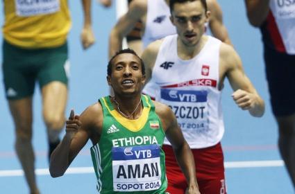 Аман защити титлата си в бягането на 800 метра