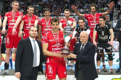 Историческа първа Купа на Италия за Златанов и Пиаченца (ВИДЕО + ГАЛЕРИЯ)