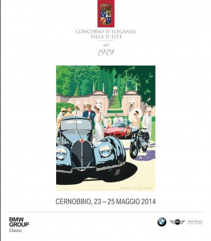 Бляскаво минало, вълнуващо бъдеще: Concorso d'Eleganza Villa d'Este 2014