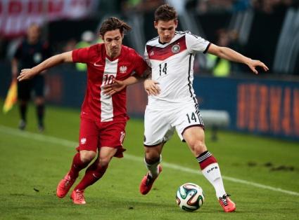 Резервите на Германия и Полша не се победиха в скучна контрола (видео)