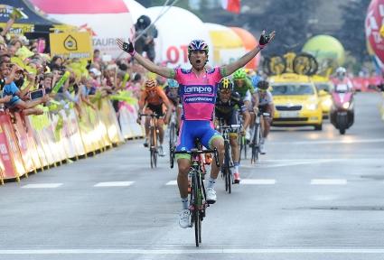 """Представител на домакините най-бърз в днешния етап на """"Джиро""""-то"""
