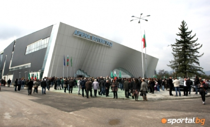 """""""Арена Ботевград"""" чака днес одобрение от CEV за домакинство на Евроволей 2015"""