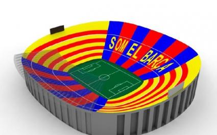 Барселона подготвя хореография за финала с Атлетико